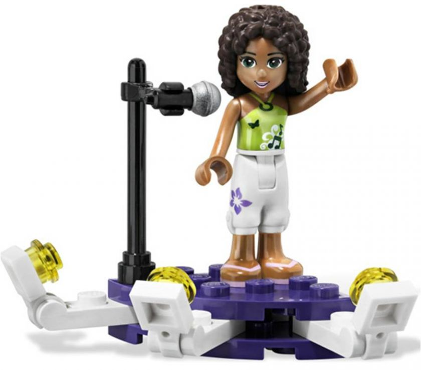 you are bidding on 1 complete set of LEGO Friends 3932 Andreas Stage